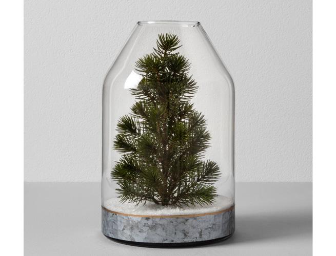 Target Hearth & Hand Magnolia Faux Tree Glass Vase