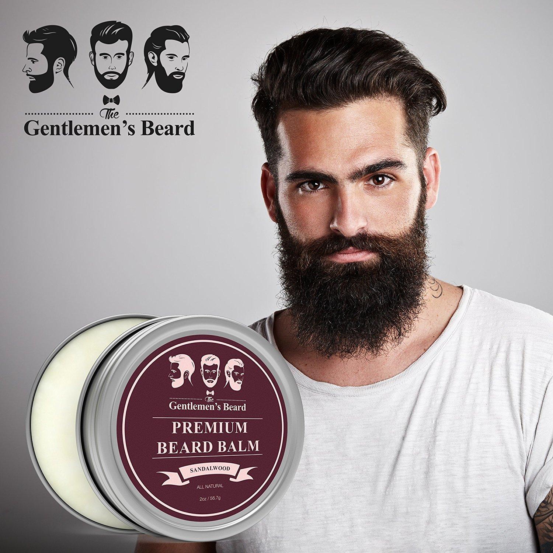 The Gentlemen's Beard Sandalwood Beard Balm
