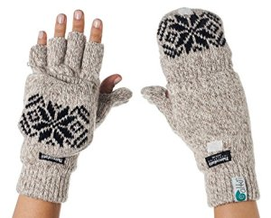 Thermal Insulation Wool Mittens Gloves by Metog