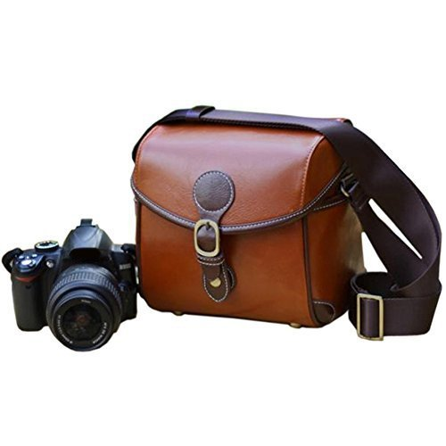 Topixdeals Vintage Waterproof Camera Bag