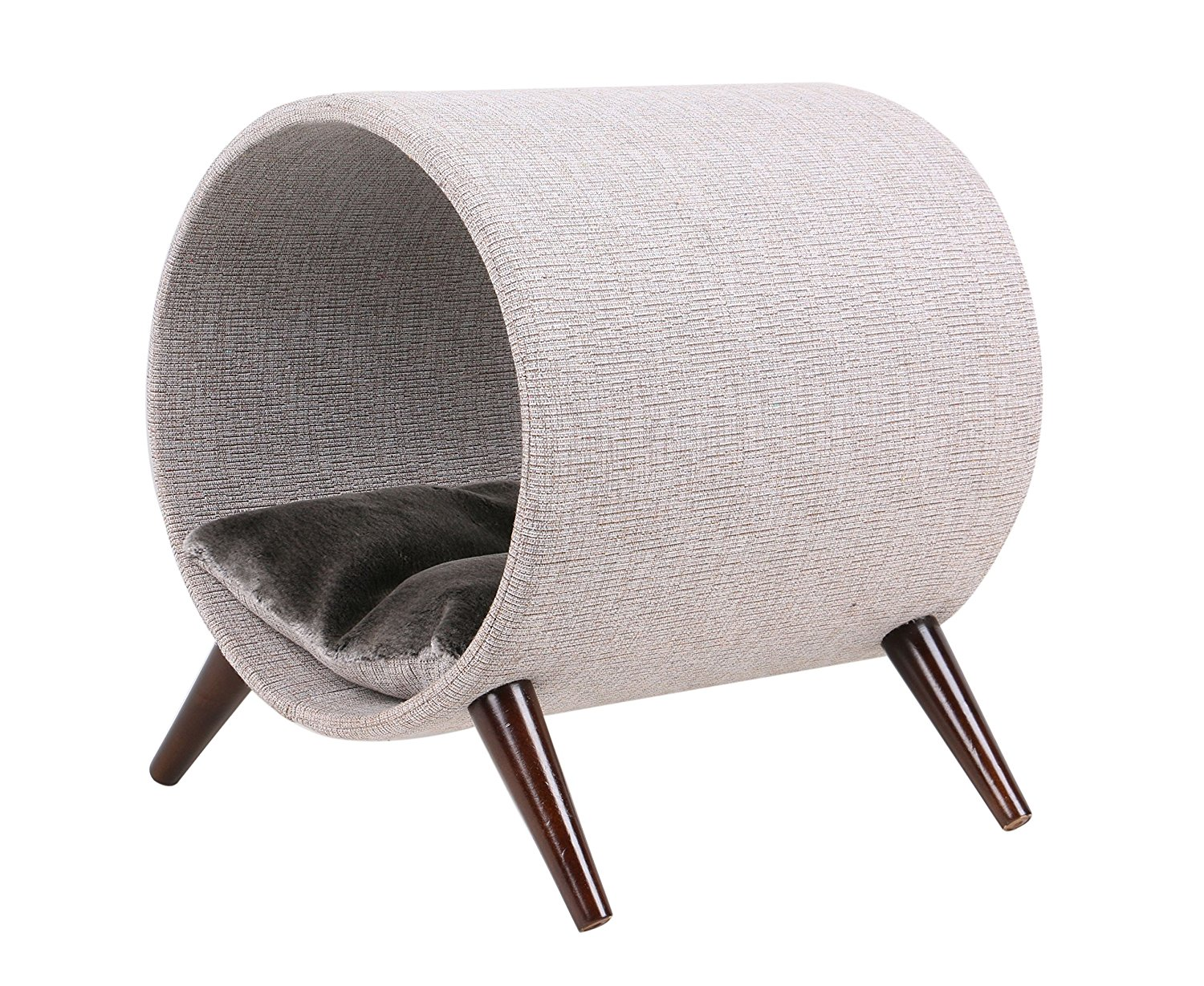 modern furniture for pets Mid-Century products cat tunnel bed