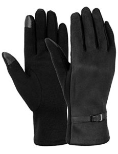 Women's Winter Touch Screen Gloves by Dimore