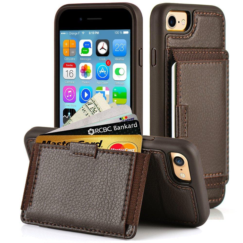 ZVE Kickstand Wallet Case