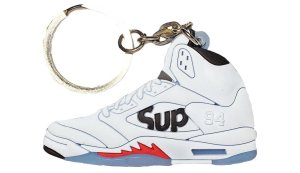 Sneaker Keychain Nike Supreme