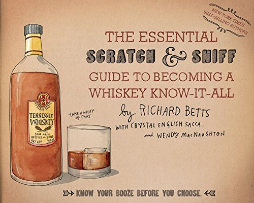 Whiskey Scatch and Sniff Book