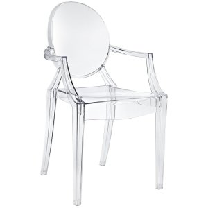 Acrylic Dining Chair Modway