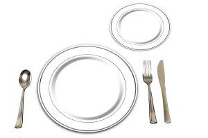 Plates Precisely Plastic
