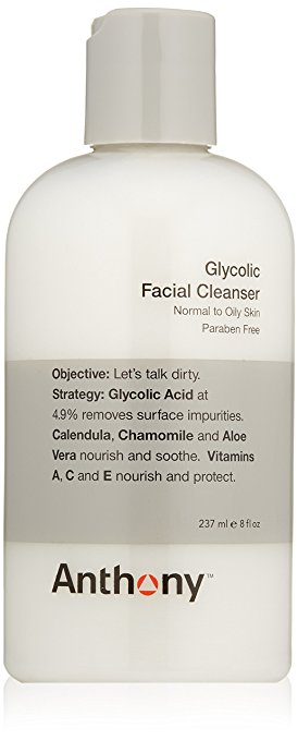 Anthony Glycolic Facial Cleanser amazon