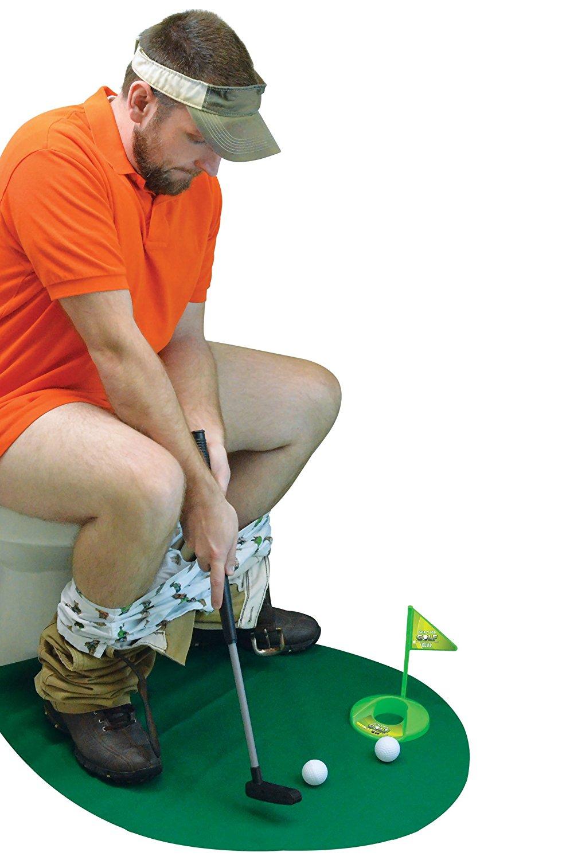 Toilet Golf Potty Putter
