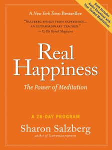 Book Real Happiness: The Power of Mediation Sharon Salzberg