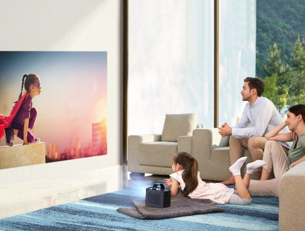 nebula portable projector
