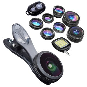 9-in-1 Cell Phone Lens Kit by KobraTech