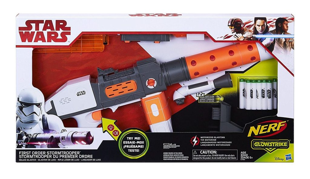 nerf star wars stormtrooper gun
