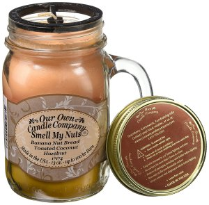 Scented Candle Mason Jar