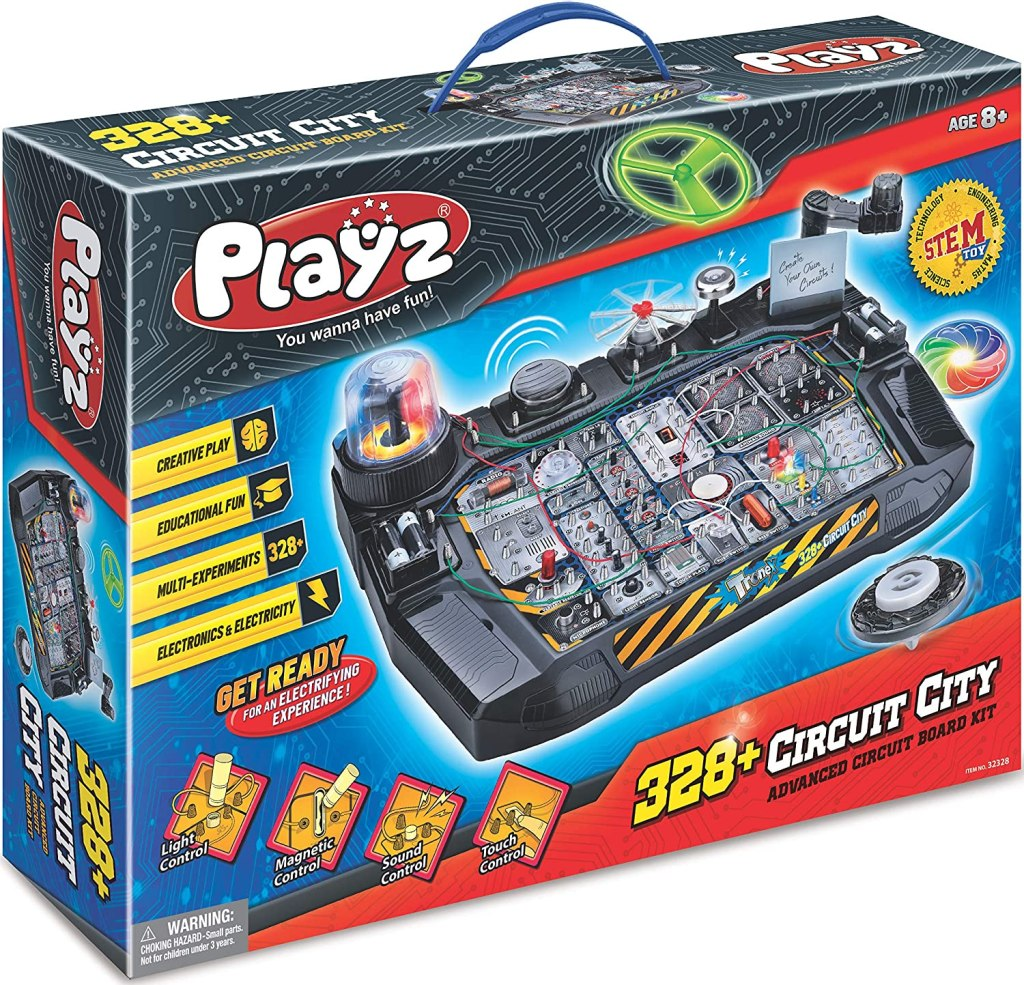 Playz Advanced Electronic Circuit Board