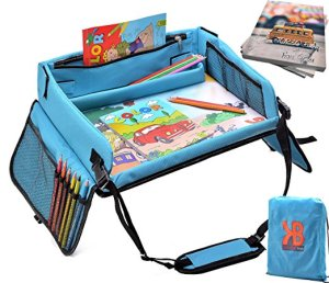 Travel Play Tray Kids Bright Toys