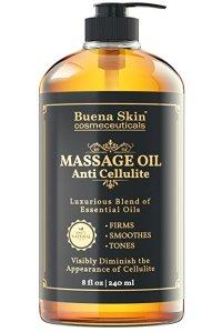 Anti Cellulite Massage Oil Treatment by Buena Skin