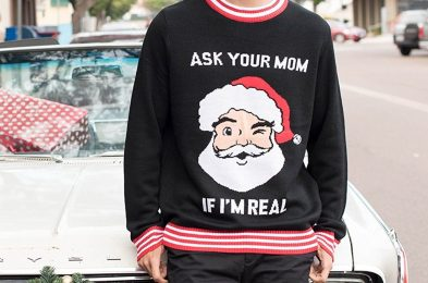 ask your mom Ugly Christmas Sweater