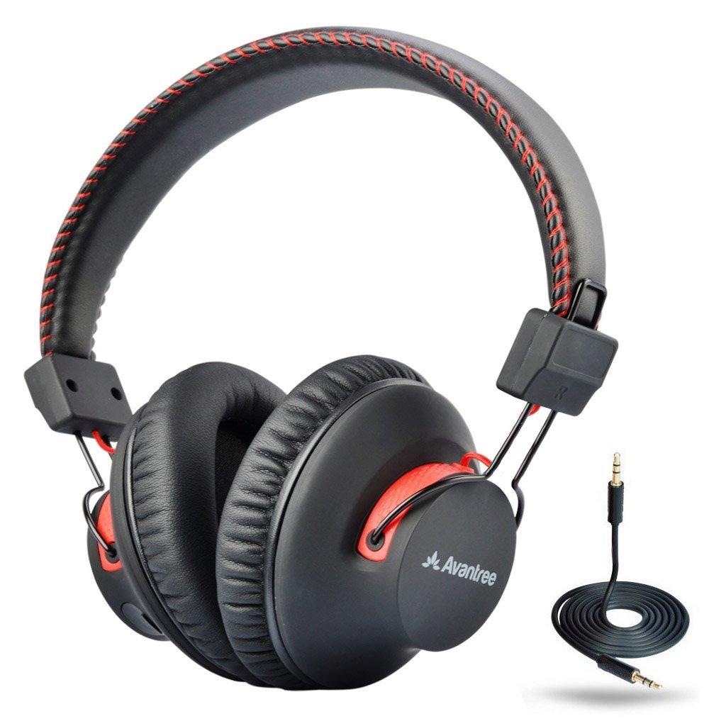 Avantree Wired Bluetooth Headphones