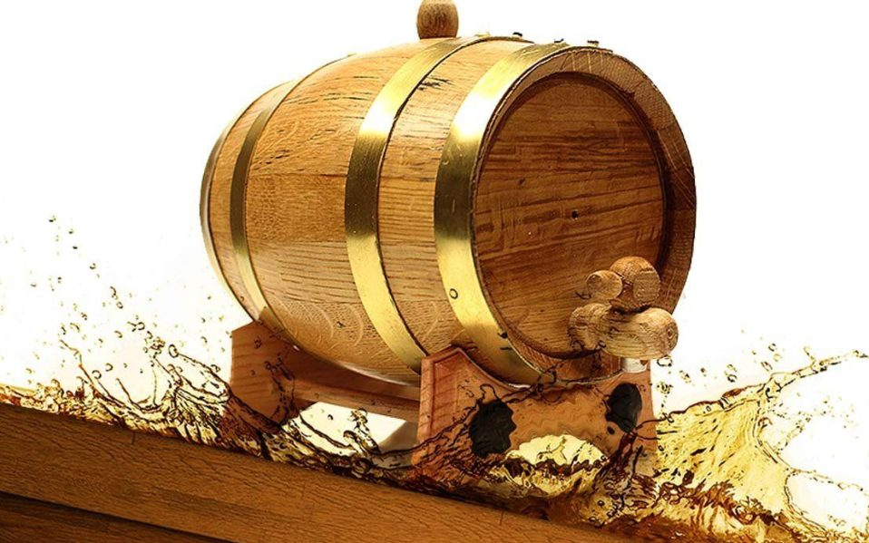 DIY whiskey aging barrel