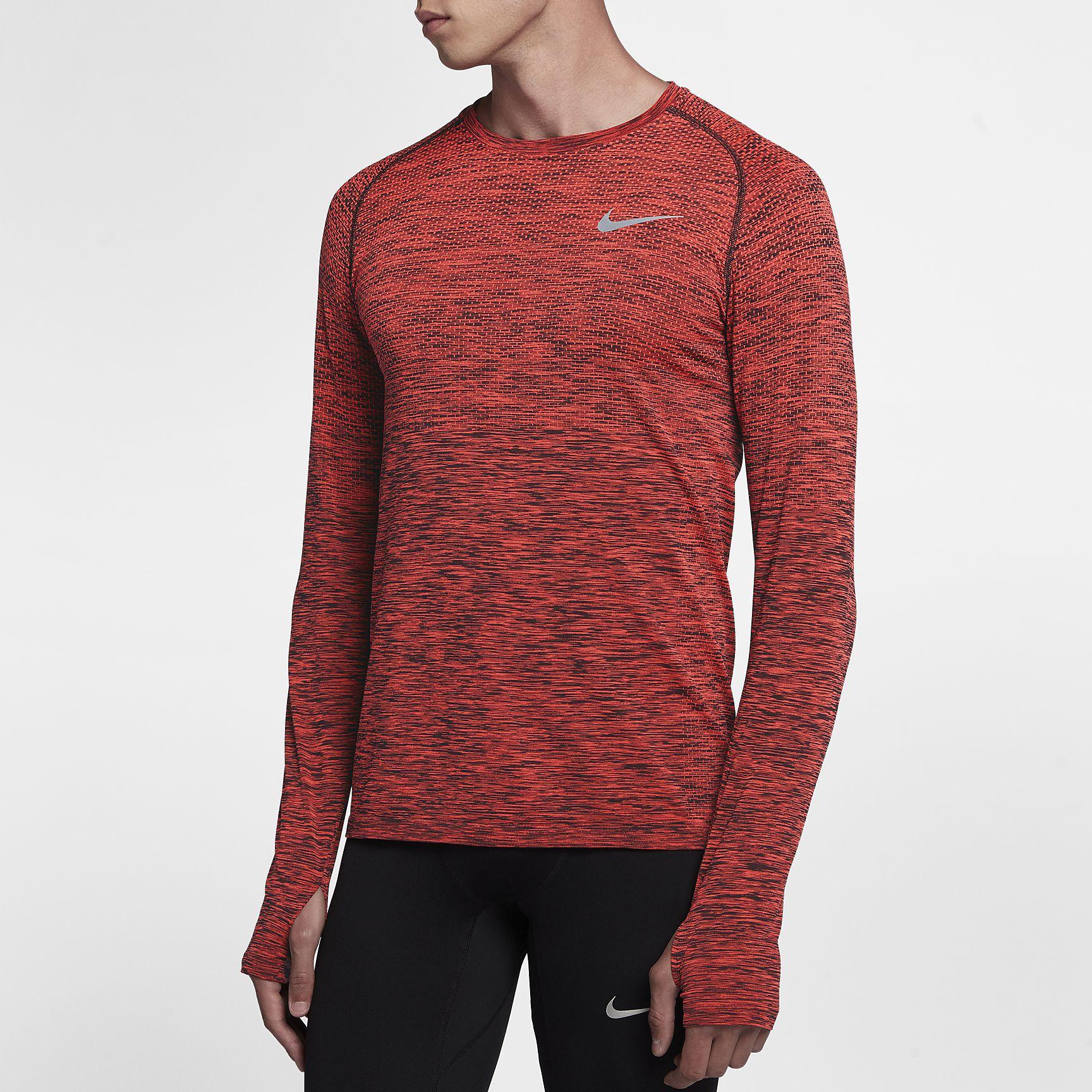 Nike Dri-Fit Knit Long Sleeve Training Top