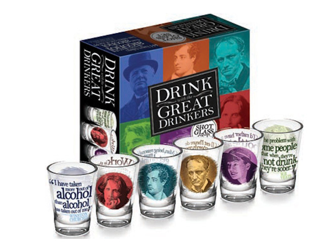 Great Drinkers Shot Glass Set