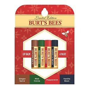 Burt's Bees 4-pack Holiday Lip Balms