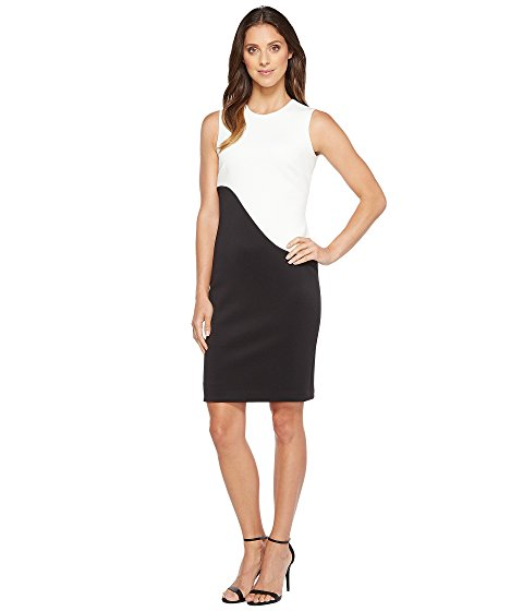 where to buy dresses online Zappos calvin klein color block sheath