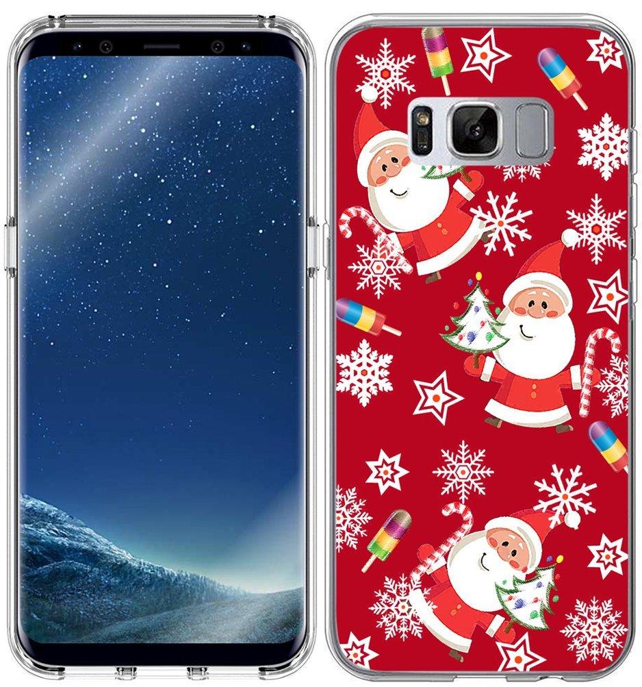 Christmas phone case best Galaxy S8 Plus Santa