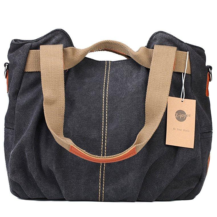 bags online best selling handbags amazon under $60 canvas denim mom bag