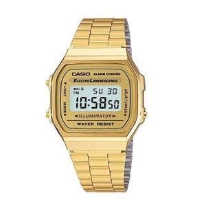 casio gold tone watch