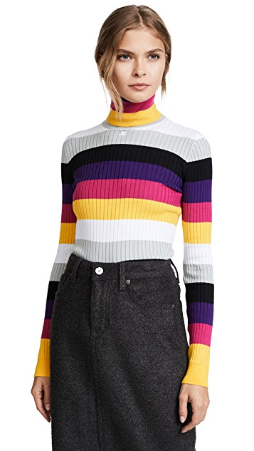 Striped Sweater Courreges