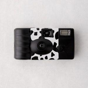 Cow Print Disposable Camera