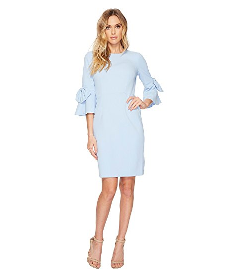 where to buy dresses online Zappos 3/4 sleeve crepe shift dress donna morgan