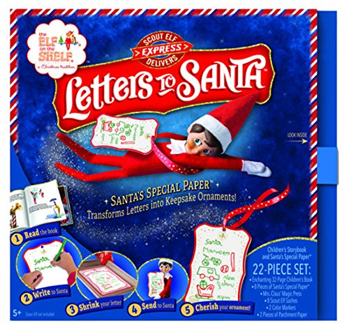 The Elf on The Shelf Letters to Santa Stationary Set