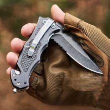 these folding knives are easier to carry and store than their fixed-blade kin