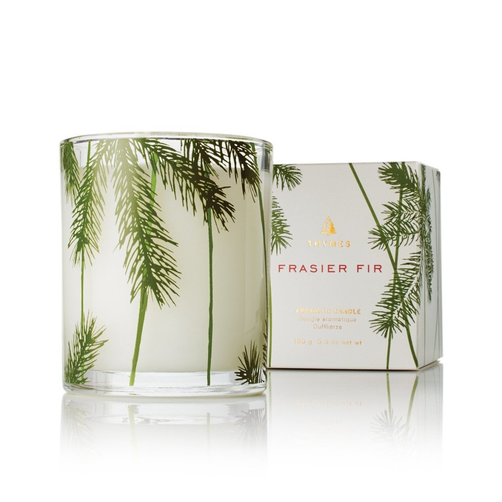 Christmas candles - Thymes Frasier Fir Poured Candle