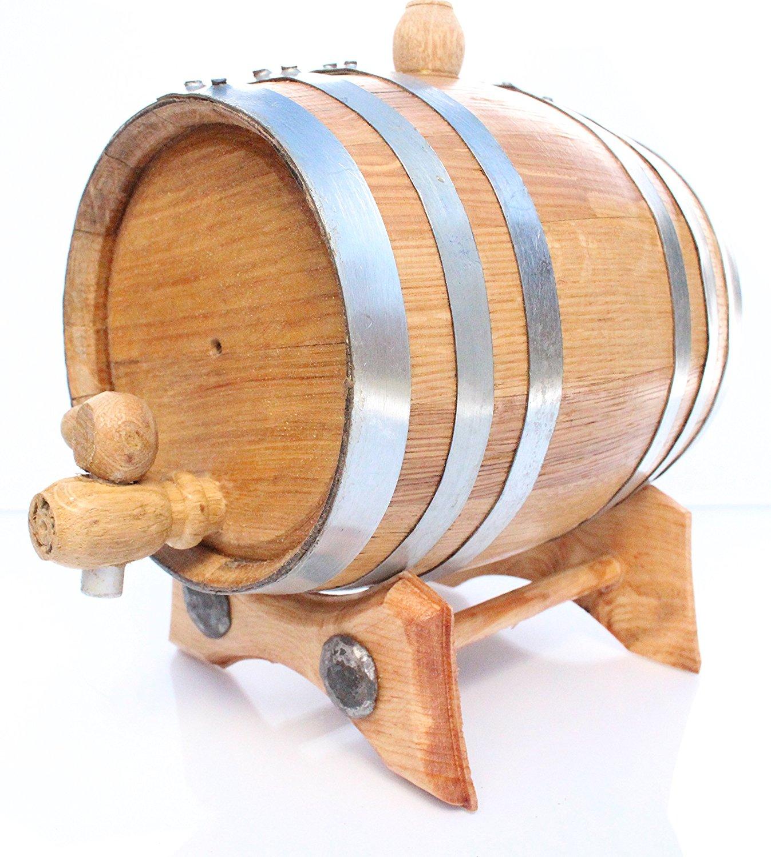 golden oak barrel