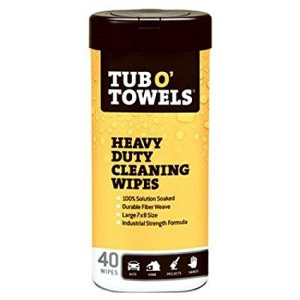 Heavy Duty Cleaning Wipes by Tub O Towels