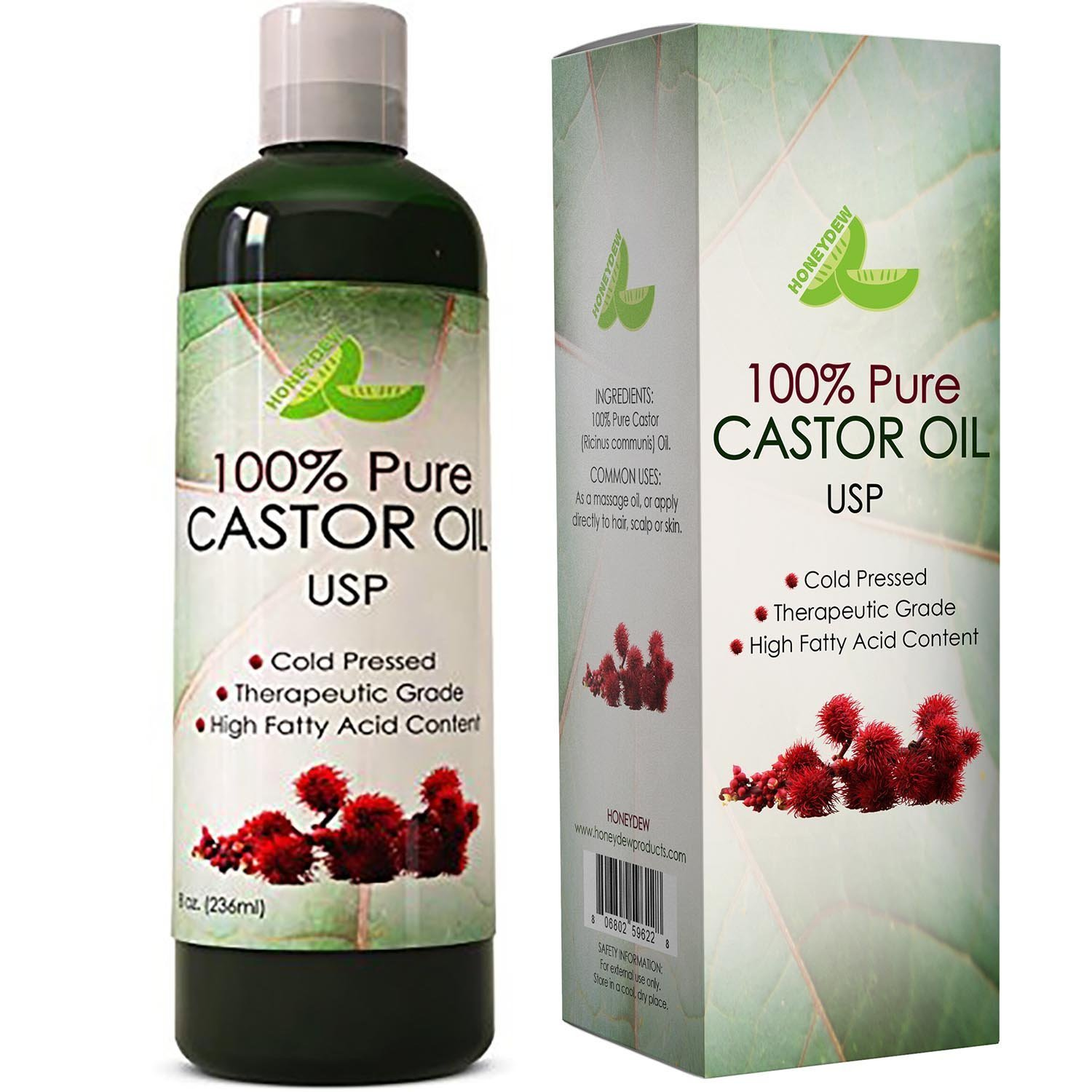 Honeydew Pure Grade Castor Oil