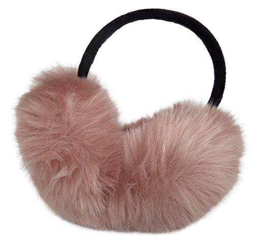 best ear muffs under $10 Amazon faux fur foldable
