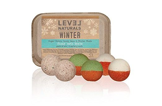 Limited Edition Winter Bath Bombs by Level Naturals