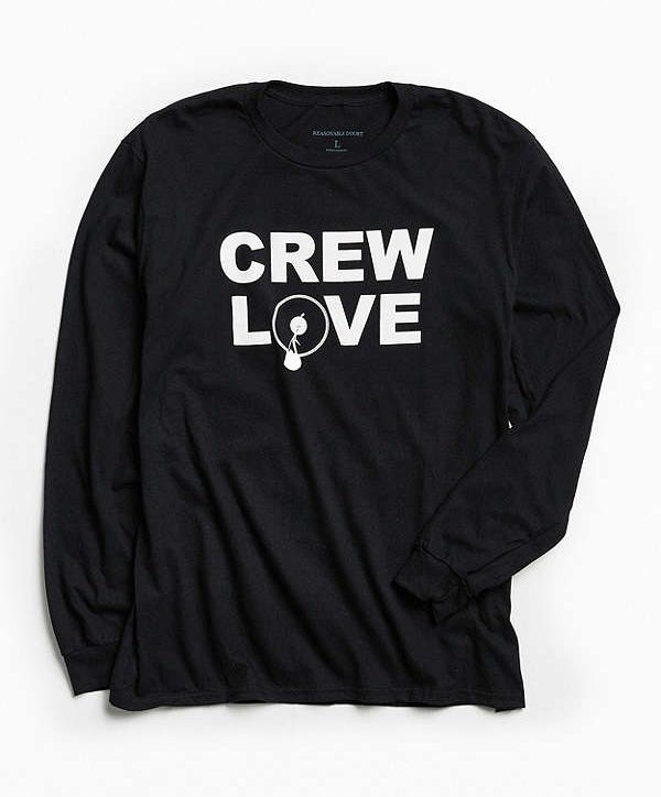 Jay-Z clothing line Urban Outfitters collection long sleeve tee crew love