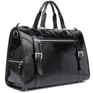 MANTOBRUCE Leather Weekender