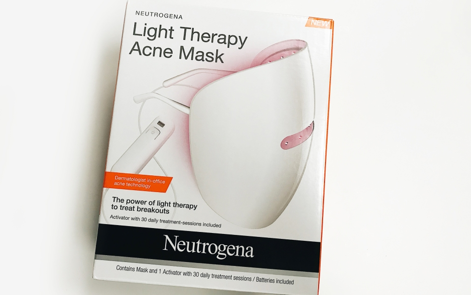 Neutrogena Light Therapy Acne Mask Review