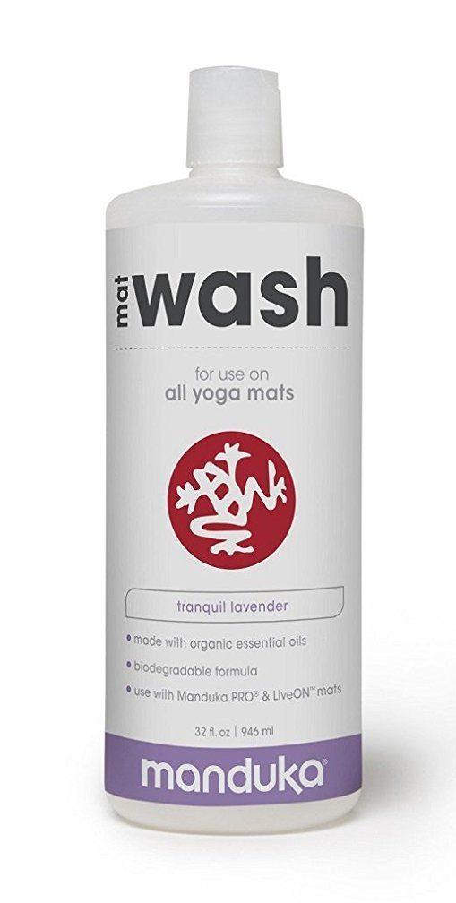 how to clean yoga mat manduka cleanser wash
