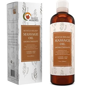 Muscle Pain Massage Oil by Maple Holistics