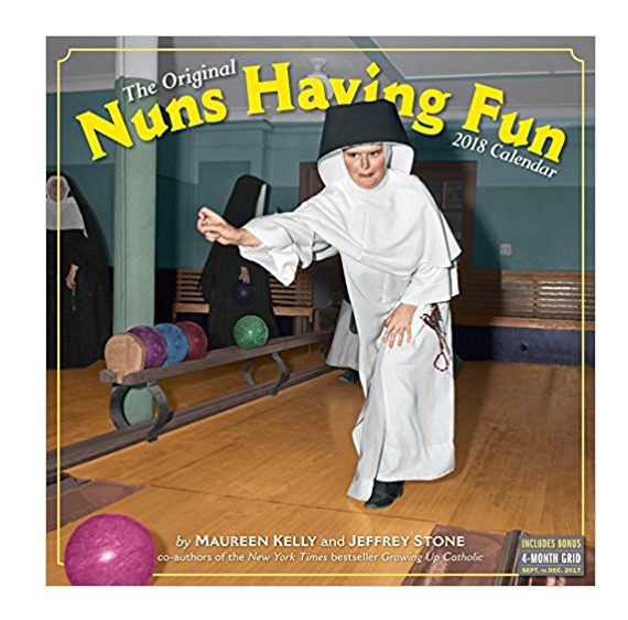 Nuns having fun calendar
