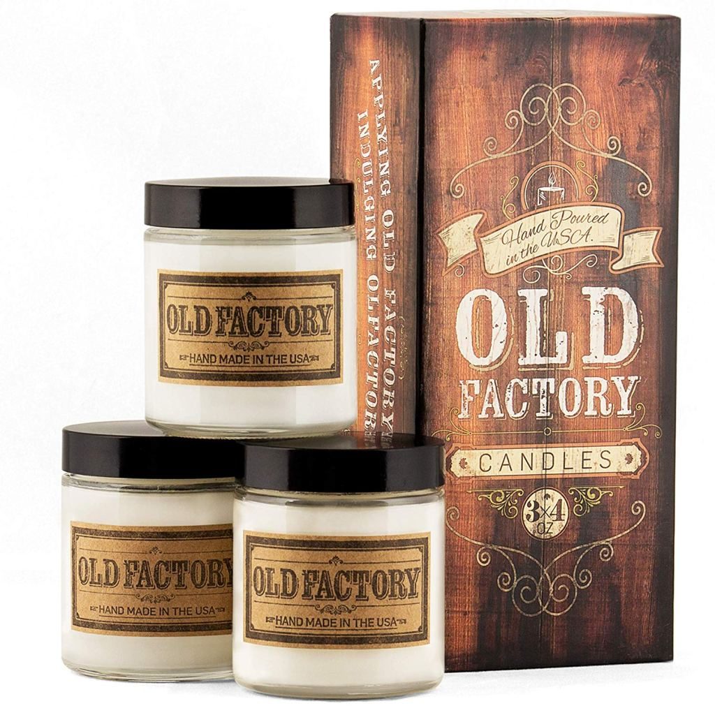 Old Factory Candles - Happy Holidays Scented