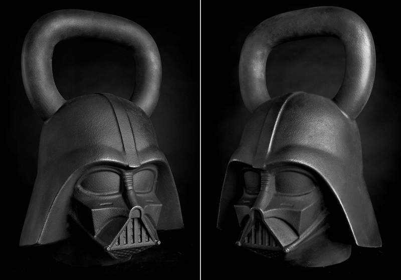 Star Wars Darth Vader Kettlebells by
